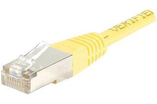 Câble RJ45 CAT6 F/UTP premium Jaune - 3 M