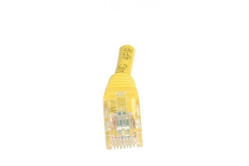 Câble RJ45 CAT5e U/UTP premium Jaune - 1 M