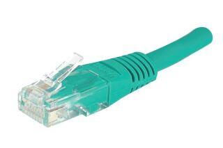 Câble RJ45 CAT5e U/UTP premium Vert - 3 M