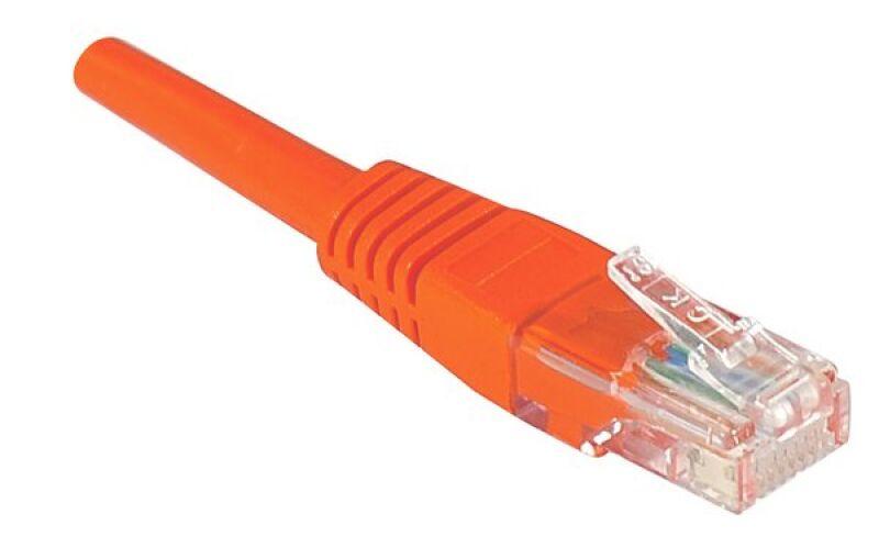 Câble RJ45 CAT5e U/UTP premium Rouge - 15 M