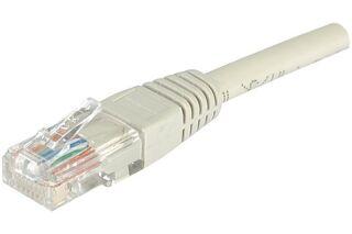 Câble RJ45 CAT6 U/UTP premium Gris - 2 M