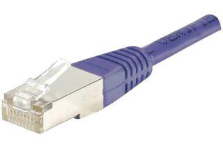 Câble RJ45 CAT6 F/UTP premium Violet - 30 M