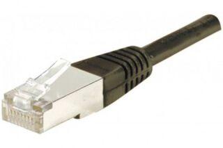 Câble RJ45 CAT6 F/UTP premium Noir - 7 M