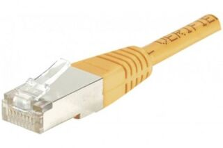 Câble RJ45 CAT6 F/UTP premium Orange - 10 M