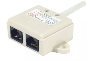 Eclateur de paires RJ45 UTP LAN + LAN