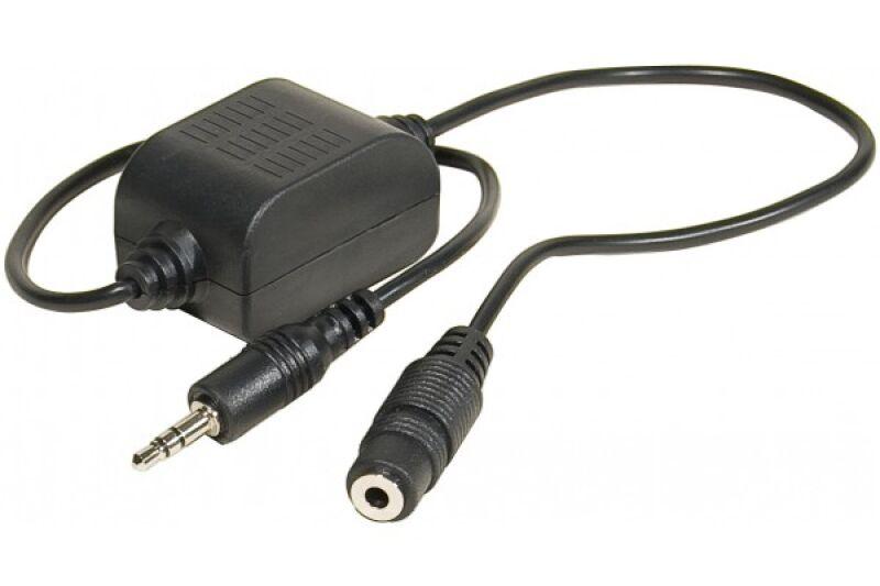 filtre anti parasites pour haut parleurs jack 3 5mm achat vente mdc 720250. Black Bedroom Furniture Sets. Home Design Ideas