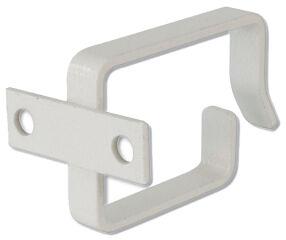DIGITUS étrier de câble en tôle d'acier, 44 x 60 mm, gris