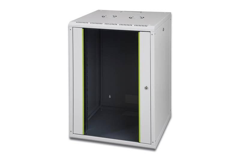 baie de brassage 19 pouces 16 u digitus 11002183. Black Bedroom Furniture Sets. Home Design Ideas