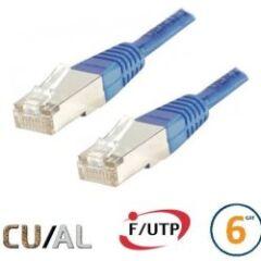 CABLE RJ45 F/UTP CAT6 Bleu - 0,30 M