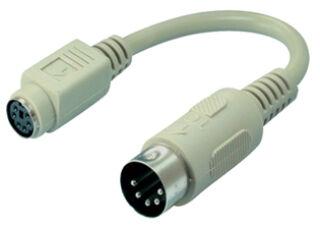 shiverpeaks BASIC-S Adaptateur clavier PS/2, L: env. 0,15 m