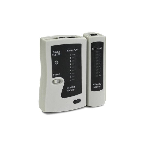 Testeur de câble pour RJ11, RJ12 et RJ45