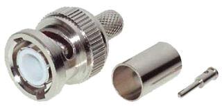 shiverpeaks connecteur BASIC-S BNC à sertir, câble coaxial