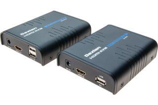 Déport KVM HDMI / USB sur IP Ethernet Gigabit