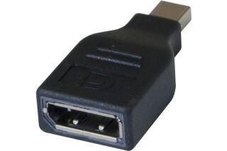 Adaptateur bidirectionnel Mini DisplayPort mâle / DisplayPort femelle