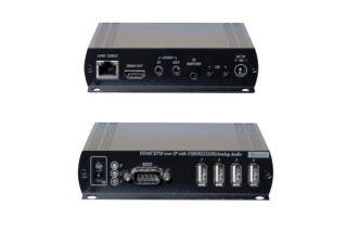 PROLONGATEUR KVM MATRICIEL SUR IP - RECEPTEUR HDMI /USB
