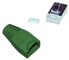 shiverpeaks BASIC-S Kit de fiches RJ45, Cat. 5e - 6, noir