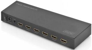 DIGITUS répartiteur video 4K HDMI , 8 ports, boîtier en