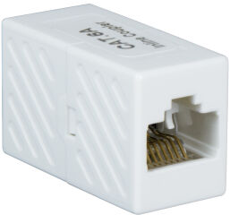 LogiLink Coupleur pour câble Patch cat. 6A, UTP, blanc