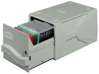 DURABLE système d'archivage MULTIMEDIA BOX I, pour 27 CD/DVD