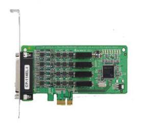 MOXA carte PCIe sérielle 16C550 RS-232/422/485, 4 ports,pour
