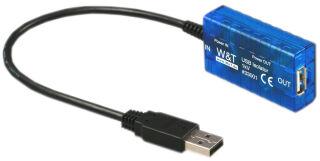 W&T isolateur USB 1kV - tension d'isolation min 1000 Volt DC