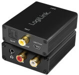 LogiLink Convertisseur audio, numérique vers analogique,