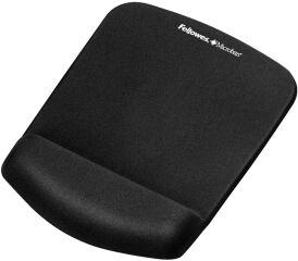 Fellowes Repose-poignet PlushTouch avec tapis de souris,noir