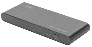 DIGITUS Switch UHD HDMI, 5 x, noir