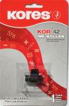 Kores Rouleau encreur pour Epson IR 40 T, noir/rouge