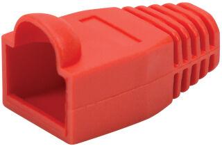 LogiLink Manchon de protection pour connecteur RJ45, rouge