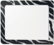 LogiLink Tapis de souris avec poche pour photo 'Zèbre'