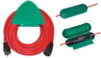 brennenstuhl Rallonge électrique, plastique, rouge, 40 m