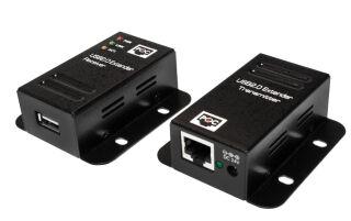Logilink Set extenseur USB 2.0, avec 1port USB Hub, PoE