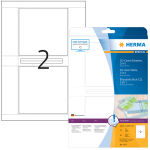 HERMA Etiquette pour étui de CD SPECIAL, 121,5 x 117,5 mm