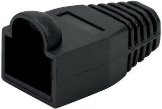 LogiLink Manchon de protection pour connecteur RJ45, noir