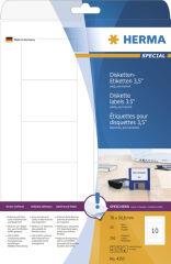 HERMA Etiquette pour disquettes 3,5' SPECIAL, 70 x 67,7 mm