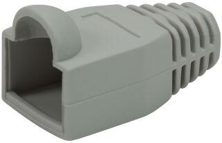 LogiLink Manchon de protection pour connecteur RJ45, gris