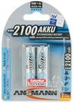 ANSMANN Pile rechargeable NiMH maxE, Mignon (AA), 2.100 mAh