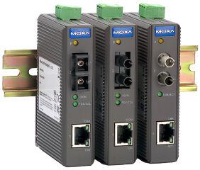 MOXA Industrial Ethernet Medien Converter, sans fonction