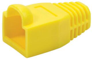 LogiLink Manchon de protection pour connecteur RJ45, jaune