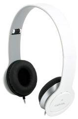 LogiLink Casque audio High Quality, avec coussinet, blanc