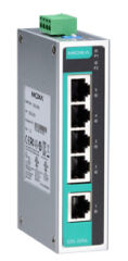 MOXA Unmanaged Industrial Ethernet Switch, 8 ports, EDS-208A