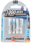 ANSMANN Pile rechargeable NiMH Premium, Micro AAA, 1.000 mAh