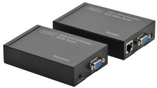 DIGITUS kit extenseur VGA-UTP via cat.5, portée: 300 m,