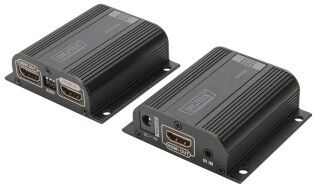 DIGITUS Amplificateur de signaux HDMI, local + éloigné, 50 m