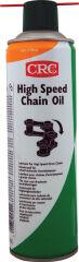 CRC Lubrifiant pour chaînes HIGH SPEED CHAIN OIL, spray 500