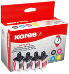 Kores Multi-Pack encre G1060KIT remplace brother LC-970BK/