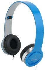 LogiLink Casque audio High Quality, avec coussinet, bleu