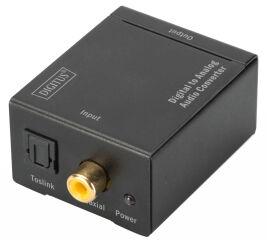 DIGITUS convertisseur audio, numérique vers analogue