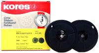 ruban compatible, groupe 1, DIN DS, nylon, noir/rouge